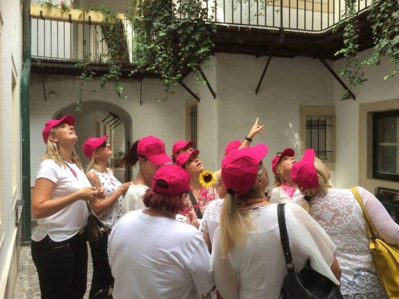 Versteckte und romantische Innenhöfe Wiens