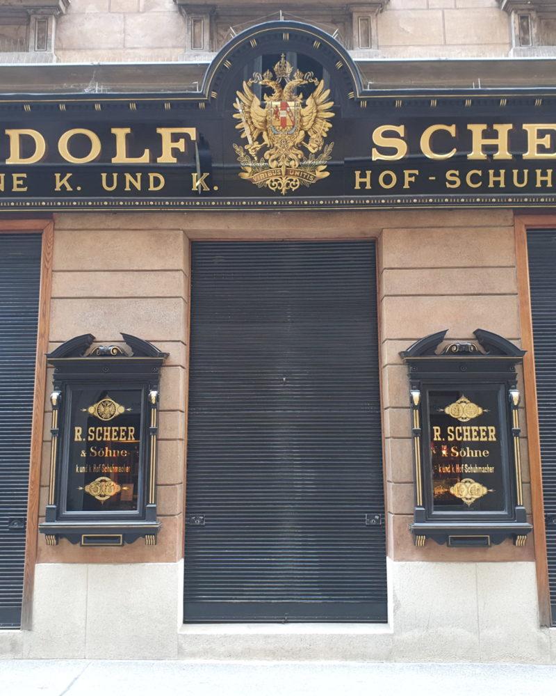 k. und k. Hof-Schuhmacher