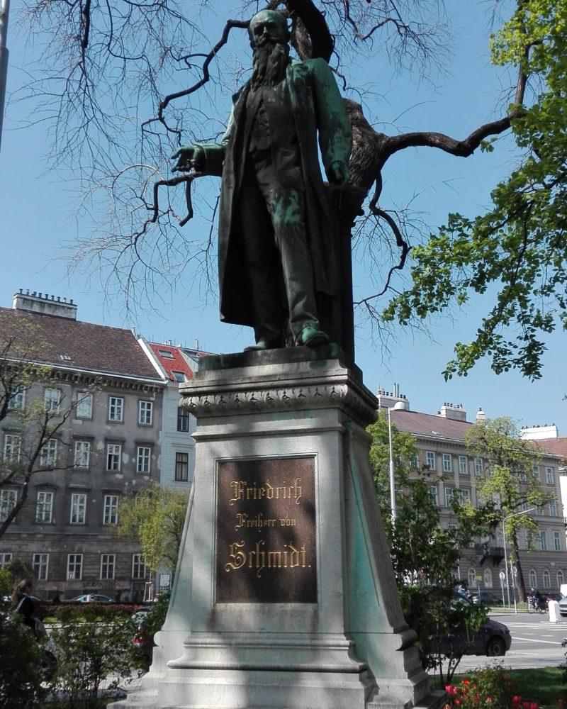 Friedrich Schmidt Statue