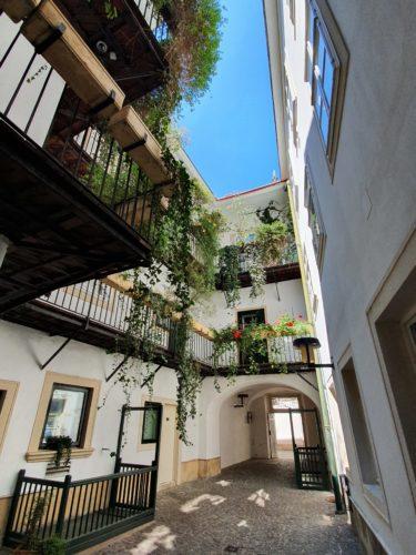 Beautiful hidden courtyards